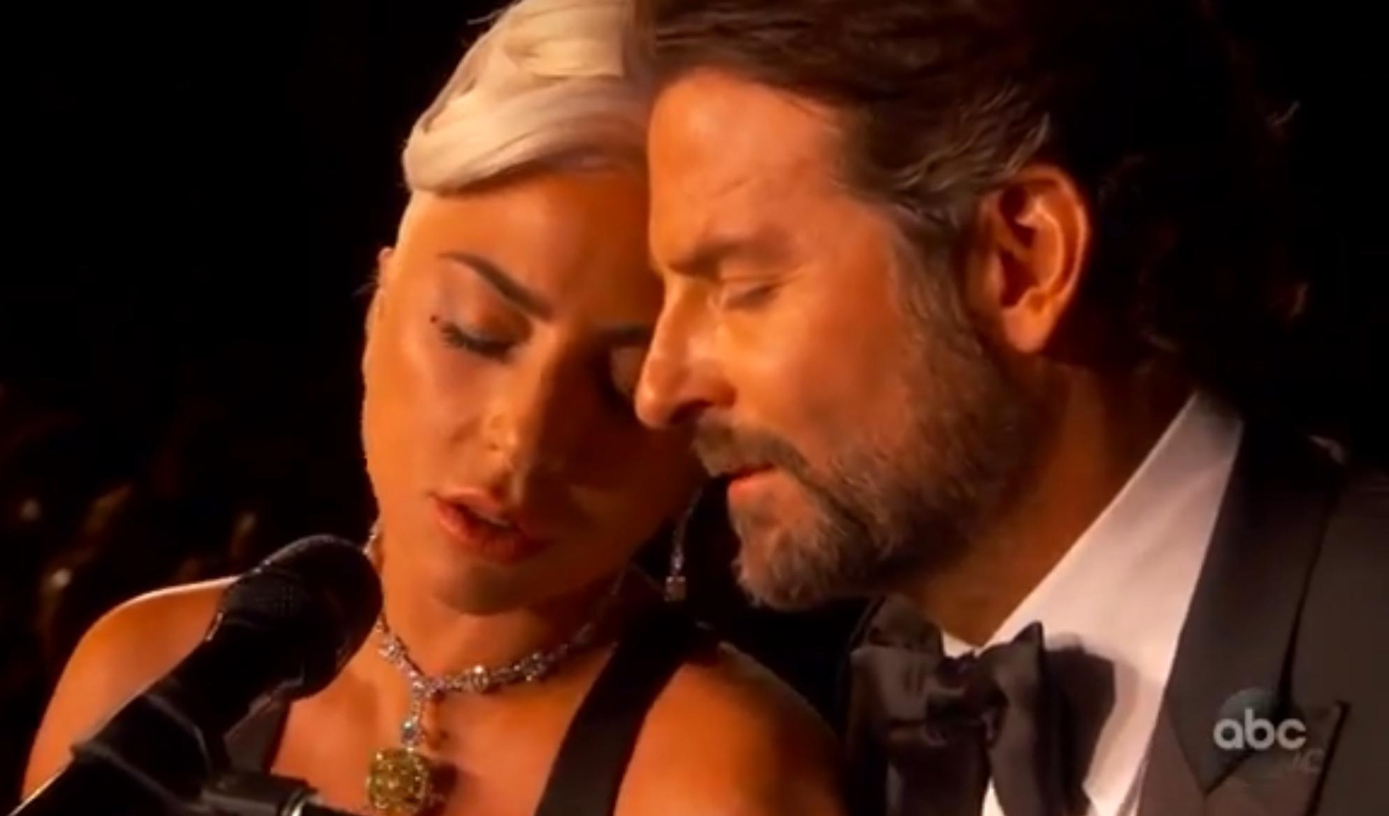 Lady Gaga與Bradley Cooper的Shallow