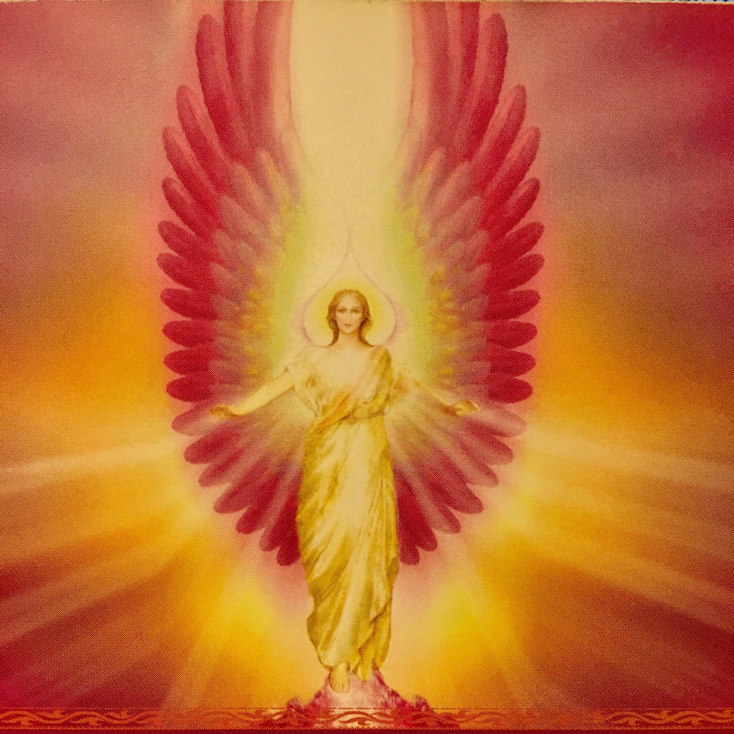 守護天使指引卡:臣服