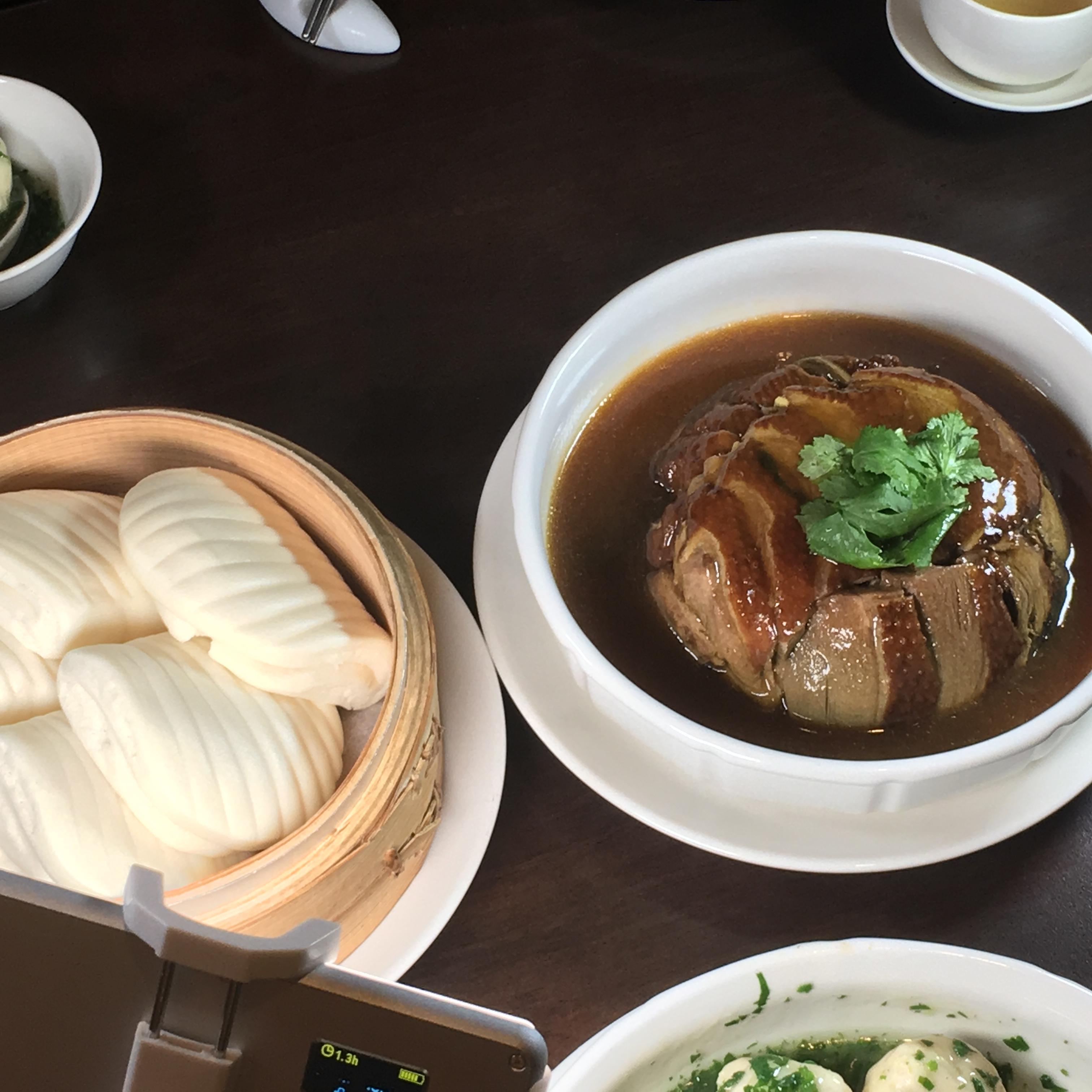點水樓:梅干菜扣鴨