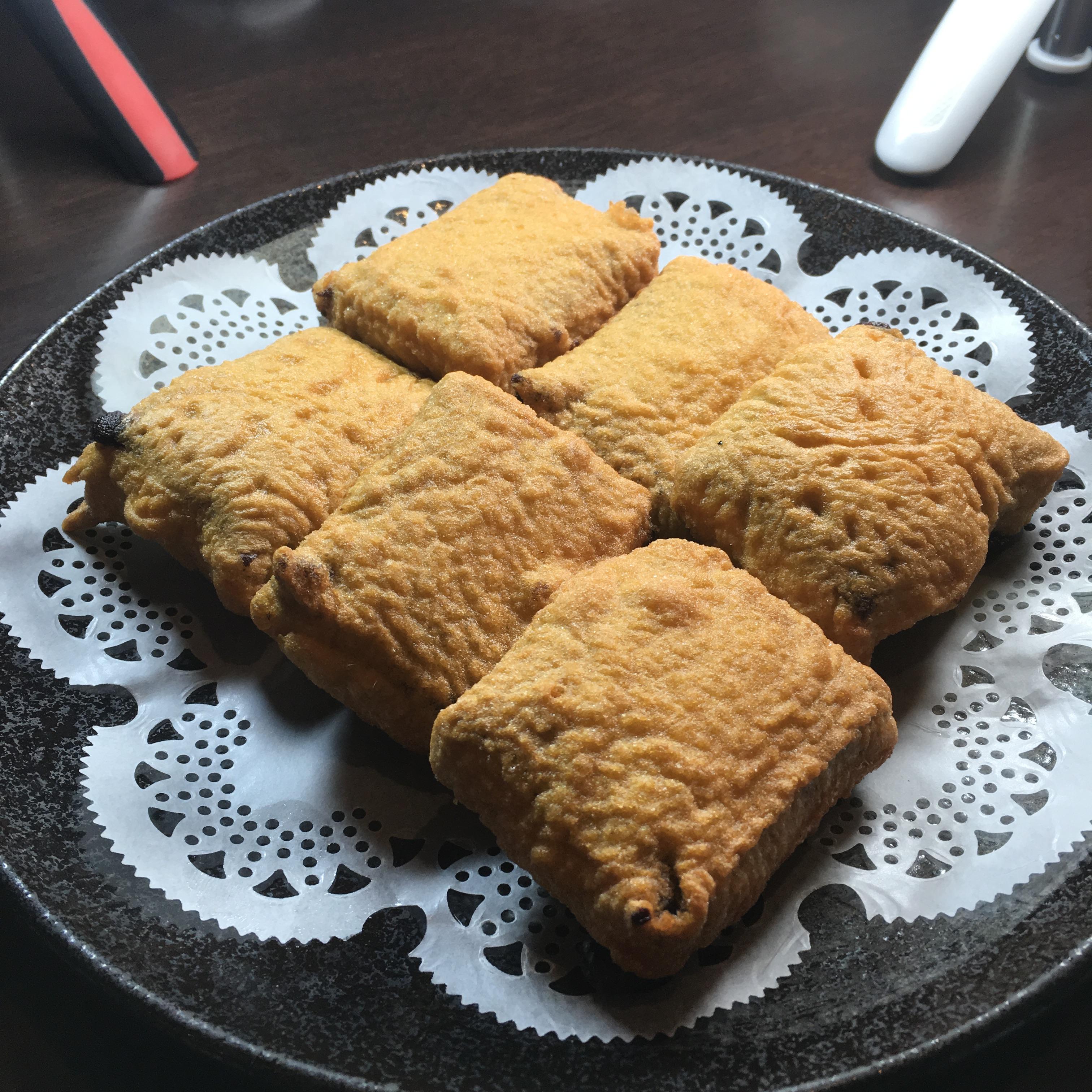 點水樓:酥炸花蓮壽豐鄉黑糯米年糕